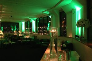 Room with Greens lights
